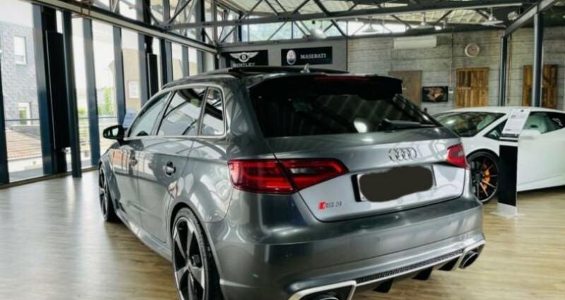Audi RS3 Sportback 2.5 TFSI 367ch 4X4S tronic 7 Gris occasion à Boulogne-Billancourt - photo n°3