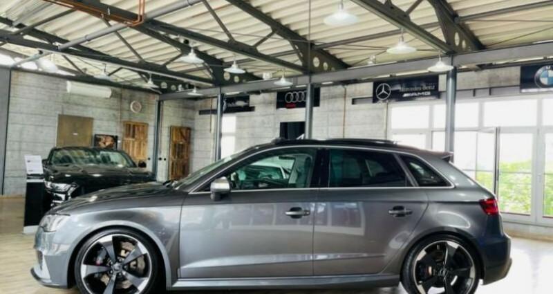 Audi RS3 Sportback 2.5 TFSI 367ch 4X4S tronic 7 Gris occasion à Boulogne-Billancourt - photo n°4