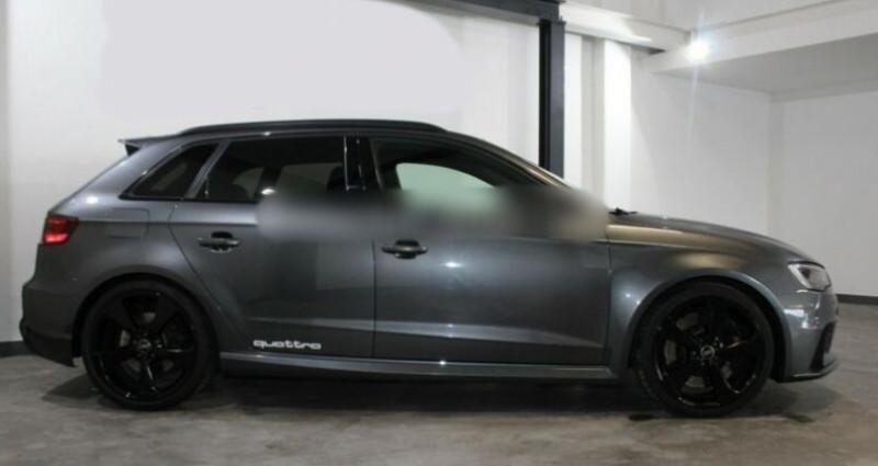 Audi RS3 Sportback 2.5 TFSI 367ch Q S tronic 7 Gris occasion à Boulogne-Billancourt - photo n°5