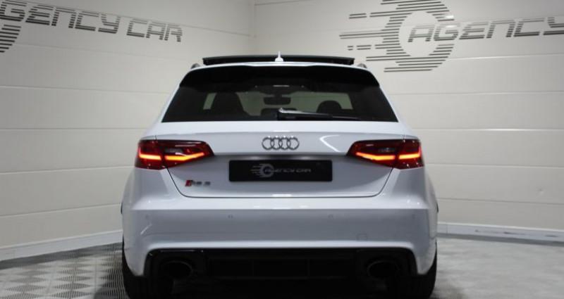 Audi RS3 Sportback 2.5 TFSI 367ch quattro S tronic Blanc occasion à COIGNIERES - photo n°3