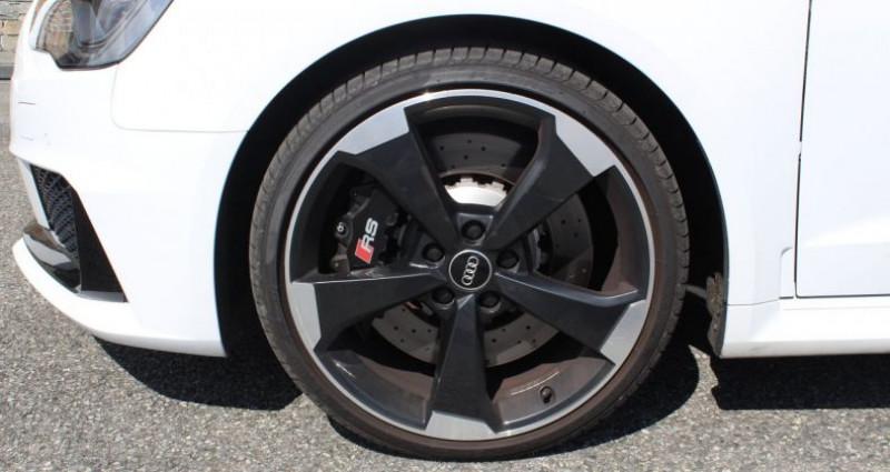 Audi RS3 Sportback 2.5 TFSI 367ch quattro S tronic Blanc occasion à COIGNIERES - photo n°6