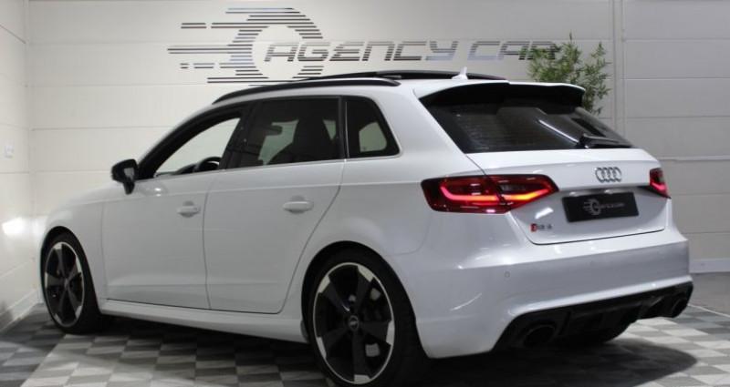 Audi RS3 Sportback 2.5 TFSI 367ch quattro S tronic Blanc occasion à COIGNIERES - photo n°5