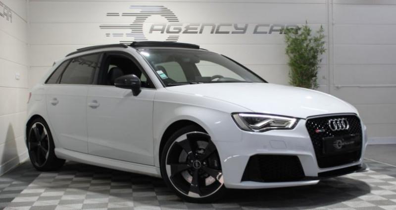 Audi RS3 Sportback 2.5 TFSI 367ch quattro S tronic Blanc occasion à COIGNIERES - photo n°2