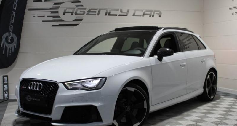 Audi RS3 Sportback 2.5 TFSI 367ch quattro S tronic Blanc occasion à COIGNIERES