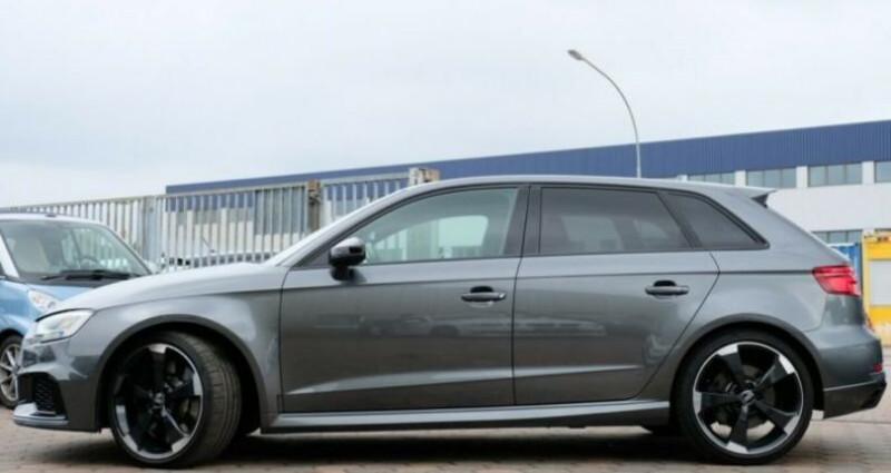 Audi RS3 Sportback  2.5 TFSI 400ch 4X4 S tronic 7 Gris occasion à Boulogne-Billancourt - photo n°6