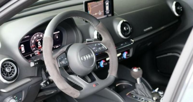 Audi RS3 Sportback  2.5 TFSI 400ch 4X4 S tronic 7 Gris occasion à Boulogne-Billancourt - photo n°7