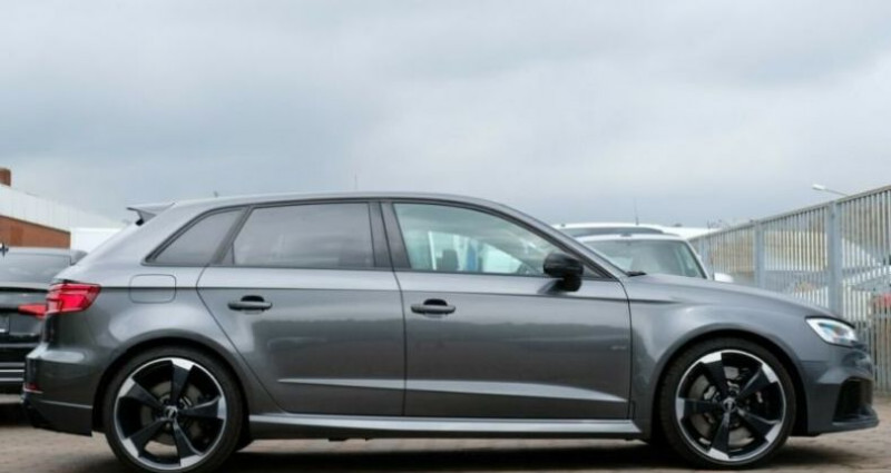 Audi RS3 Sportback  2.5 TFSI 400ch 4X4 S tronic 7 Gris occasion à Boulogne-Billancourt - photo n°3