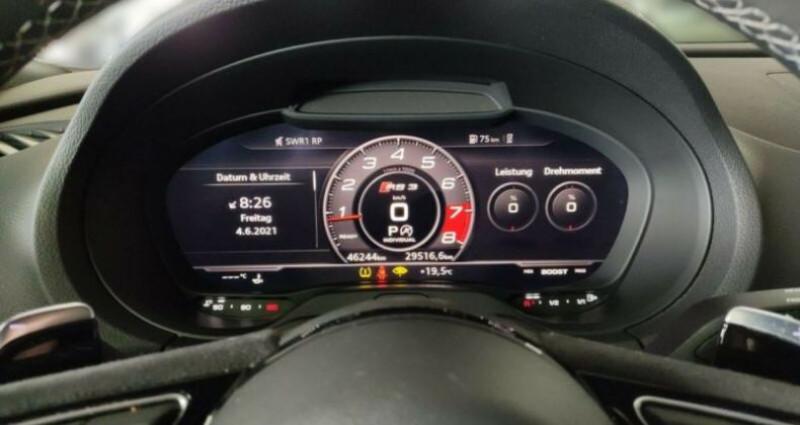 Audi RS3 Sportback  2.5 TFSI 400ch Q S tronic 7 Gris occasion à Boulogne-Billancourt - photo n°6