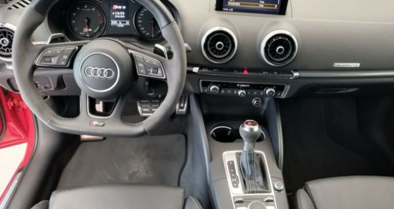 Audi RS3 Sportback 2.5 TFSI 400ch Q S tronic 7 Rouge occasion à Boulogne-Billancourt - photo n°4