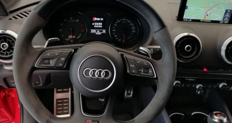 Audi RS3 Sportback 2.5 TFSI 400ch Q S tronic 7 Rouge occasion à Boulogne-Billancourt - photo n°5