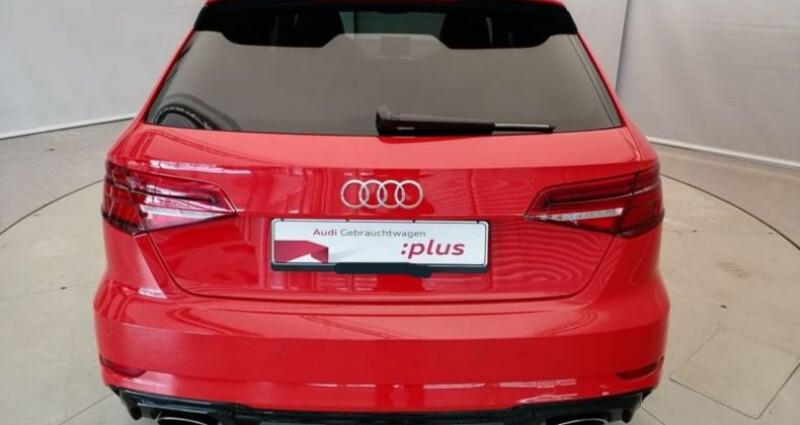 Audi RS3 Sportback 2.5 TFSI 400ch Q S tronic 7 Rouge occasion à Boulogne-Billancourt - photo n°3