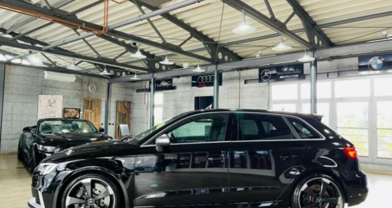 Audi RS3 Sportback 2.5 TFSI 400ch quattro S tro 7 Noir occasion à Boulogne-Billancourt - photo n°3