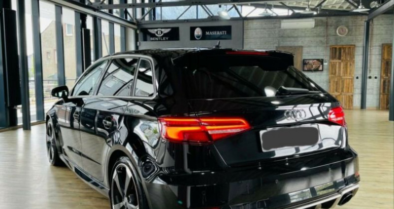 Audi RS3 Sportback 2.5 TFSI 400ch quattro S tro 7 Noir occasion à Boulogne-Billancourt - photo n°4