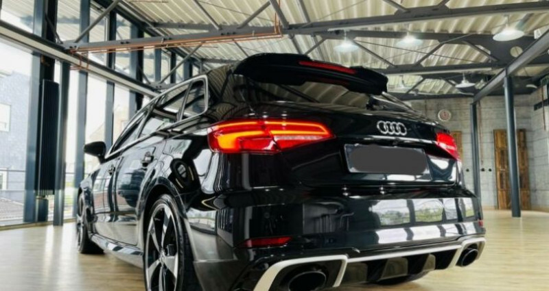 Audi RS3 Sportback 2.5 TFSI 400ch quattro S tro 7 Noir occasion à Boulogne-Billancourt - photo n°5