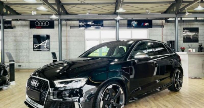 Audi RS3 Sportback 2.5 TFSI 400ch quattro S tro 7 Noir occasion à Boulogne-Billancourt