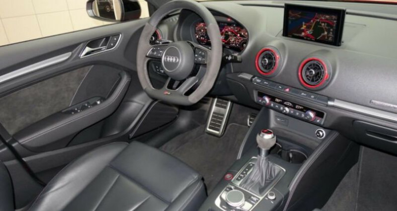 Audi RS3 sportback * malus inclus * Rouge occasion à Mudaison - photo n°3