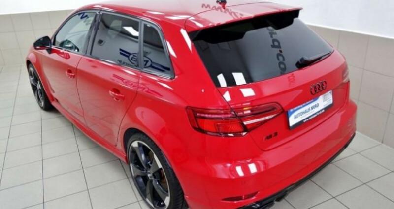 Audi RS3 sportback * malus inclus * Rouge occasion à Mudaison
