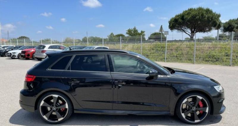 Audi RS3 SPORTBACK QUATTRO S-TRONIC 400CH Noir occasion à RIVESALTES - photo n°7