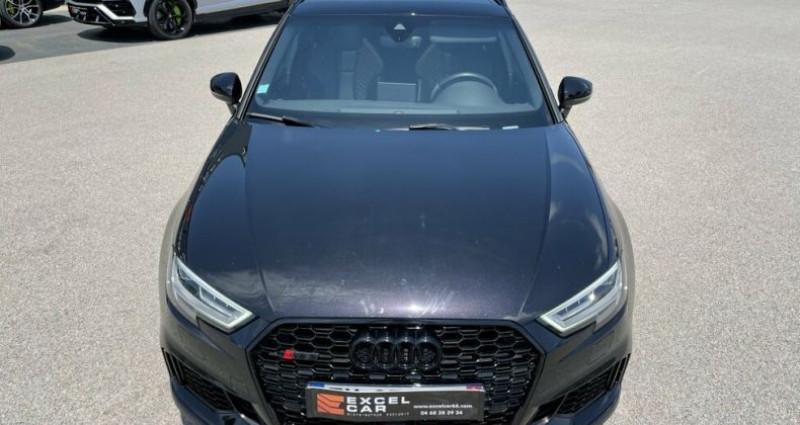 Audi RS3 SPORTBACK QUATTRO S-TRONIC 400CH Noir occasion à RIVESALTES - photo n°5