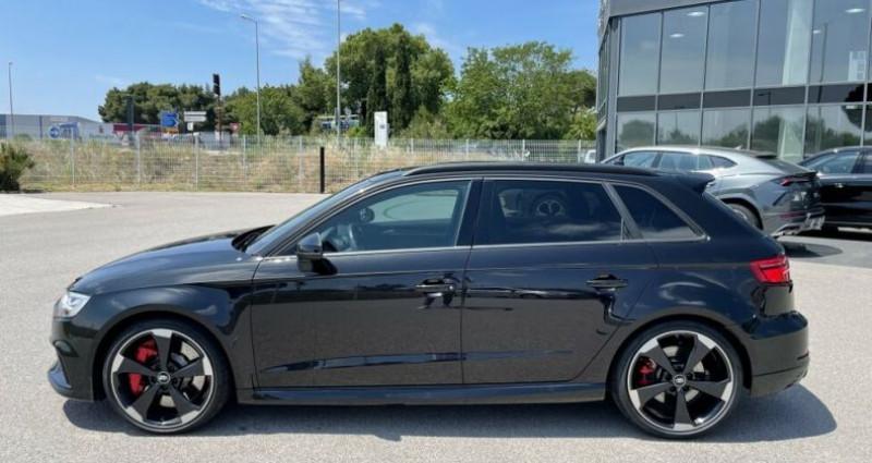 Audi RS3 SPORTBACK QUATTRO S-TRONIC 400CH Noir occasion à RIVESALTES - photo n°4
