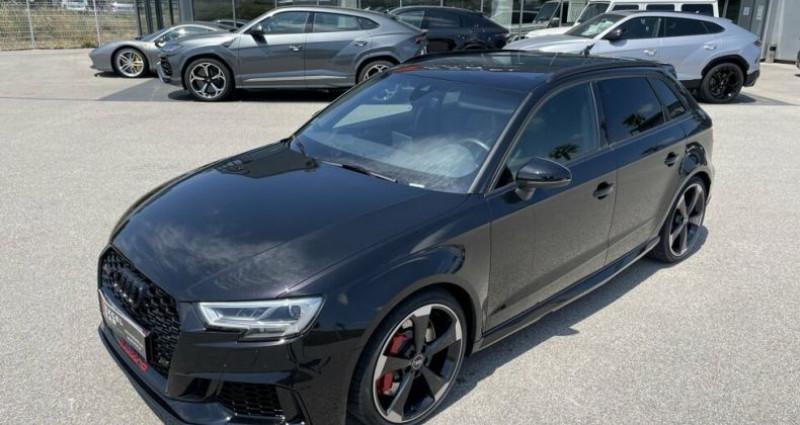 Audi RS3 SPORTBACK QUATTRO S-TRONIC 400CH Noir occasion à RIVESALTES - photo n°2