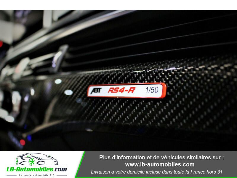 Audi RS4 Avant RS4-R ABT 1 OF 50 V6 2.9 TFSI 530 ch Tiptronic 8 Noir occasion à Beaupuy - photo n°4