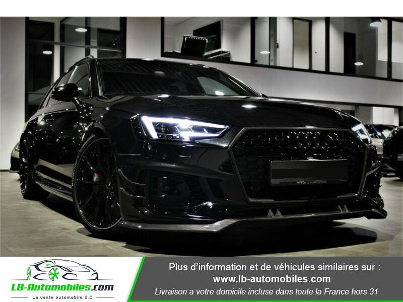 Audi RS4 Avant RS4-R ABT 1 OF 50 V6 2.9 TFSI 530 ch Tiptronic 8 Noir occasion à Beaupuy - photo n°16