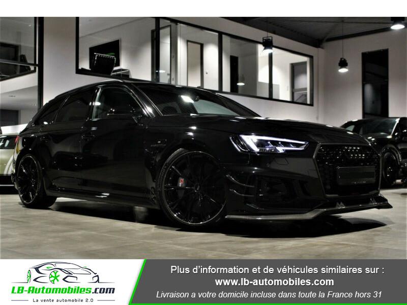Audi RS4 Avant RS4-R ABT 1 OF 50 V6 2.9 TFSI 530 ch Tiptronic 8 Noir occasion à Beaupuy - photo n°17