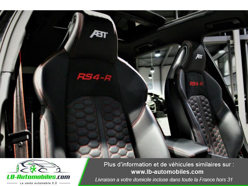 Audi RS4 Avant RS4-R ABT 1 OF 50 V6 2.9 TFSI 530 ch Tiptronic 8 Noir occasion à Beaupuy - photo n°5