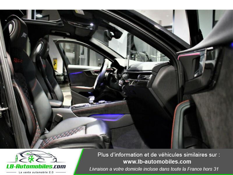 Audi RS4 Avant RS4-R ABT 1 OF 50 V6 2.9 TFSI 530 ch Tiptronic 8 Noir occasion à Beaupuy - photo n°10