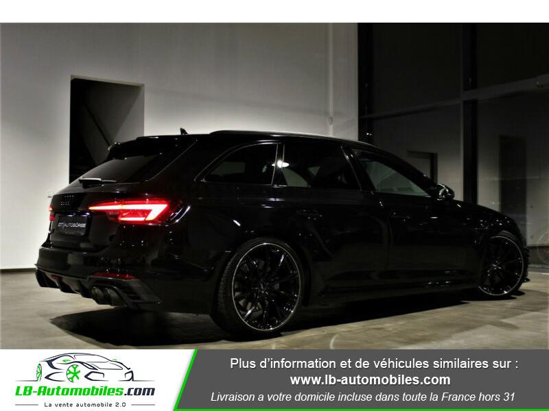Audi RS4 Avant RS4-R ABT 1 OF 50 V6 2.9 TFSI 530 ch Tiptronic 8 Noir occasion à Beaupuy - photo n°3