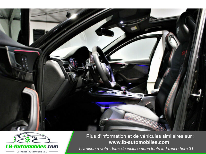 Audi RS4 Avant RS4-R ABT 1 OF 50 V6 2.9 TFSI 530 ch Tiptronic 8 Noir occasion à Beaupuy - photo n°11
