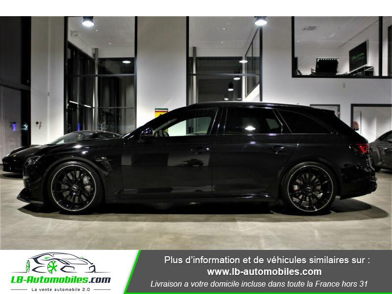 Audi RS4 Avant RS4-R ABT 1 OF 50 V6 2.9 TFSI 530 ch Tiptronic 8 Noir occasion à Beaupuy - photo n°19