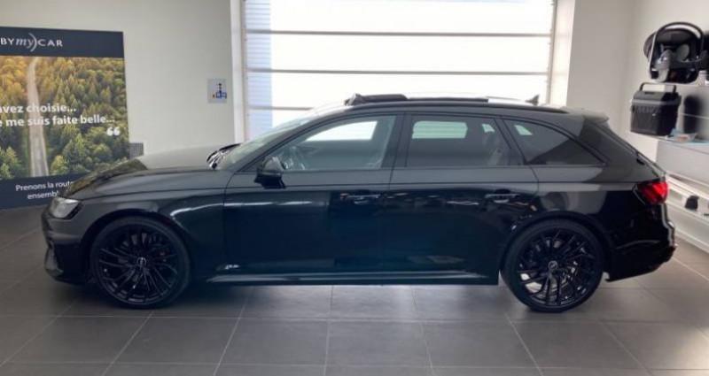 Audi RS4 Avant V6 2.9 TFSI 450 ch Tiptronic 8 Quattro Noir occasion à Chenove - photo n°4