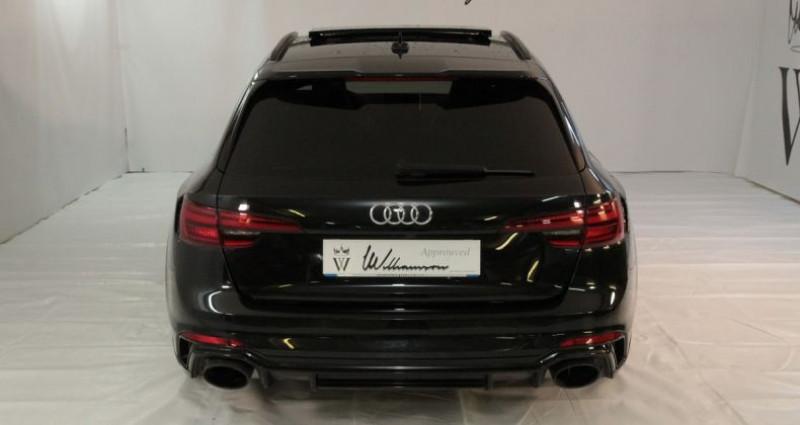 Audi RS4 avant v6 450cv i Noir occasion à Neuilly Sur Seine - photo n°5
