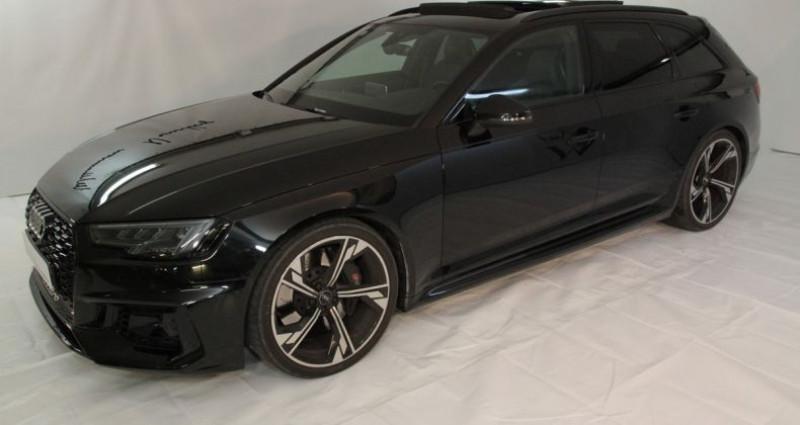 Audi RS4 avant v6 450cv i Noir occasion à Neuilly Sur Seine - photo n°3