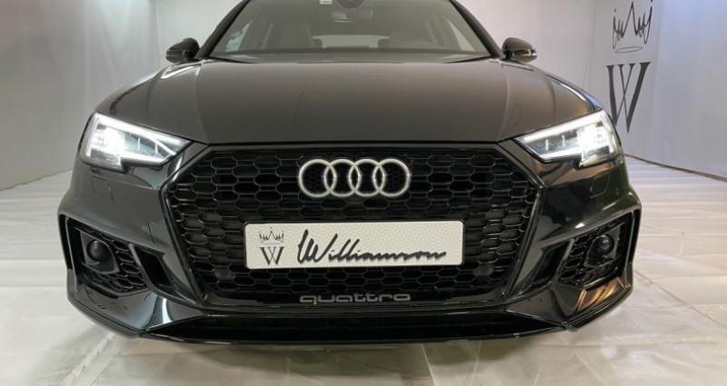 Audi RS4 avant v6 450cv i Noir occasion à Neuilly Sur Seine - photo n°2