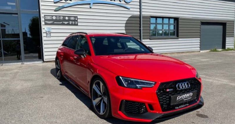 Audi RS4 Avant V6 TFSI 450CH QUATTRO Rouge occasion à DIJON