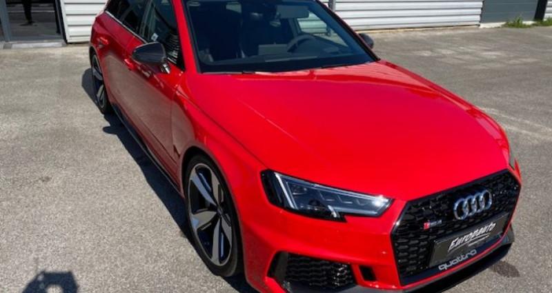 Audi RS4 Avant V6 TFSI 450CH QUATTRO Rouge occasion à DIJON - photo n°2