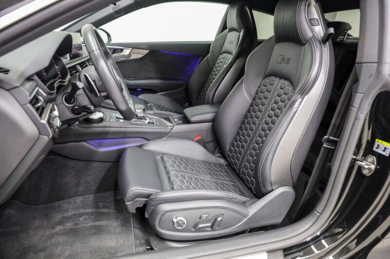 Audi RS5 2.9 V6 TFSI 450CH QUATTRO TIPTRONIC 8 Noir occasion à Villenave-d'Ornon - photo n°8