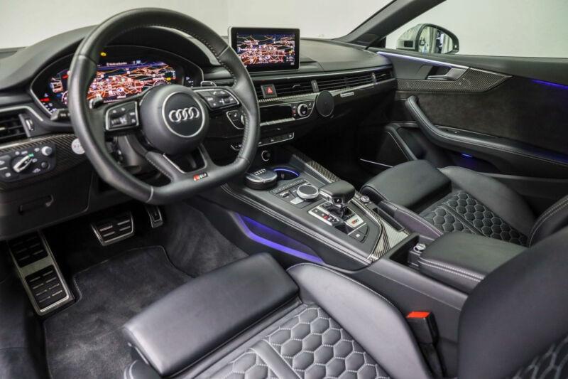 Audi RS5 2.9 V6 TFSI 450CH QUATTRO TIPTRONIC 8 Noir occasion à Villenave-d'Ornon - photo n°9
