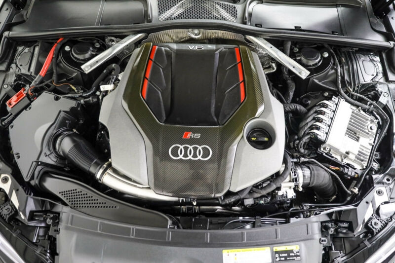 Audi RS5 2.9 V6 TFSI 450CH QUATTRO TIPTRONIC 8 Noir occasion à Villenave-d'Ornon - photo n°6