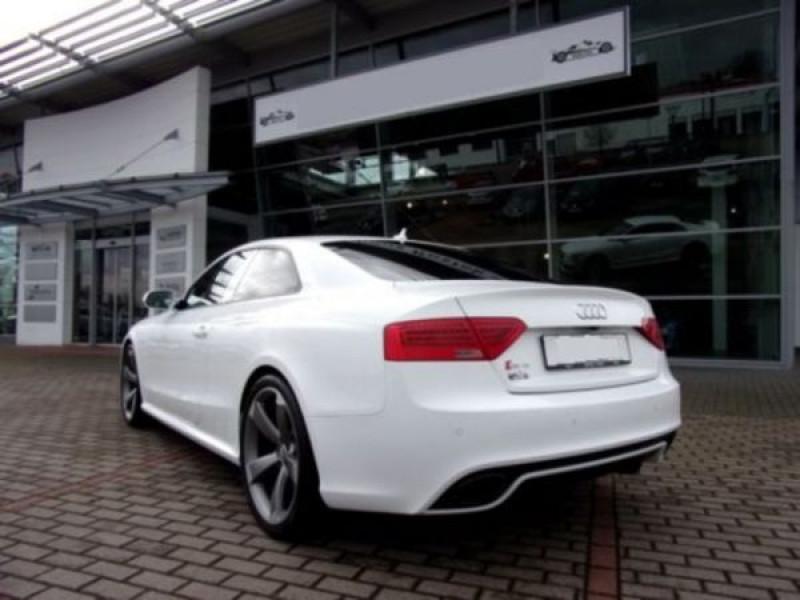Audi RS5 4.2 FSI Blanc occasion à Beaupuy - photo n°2