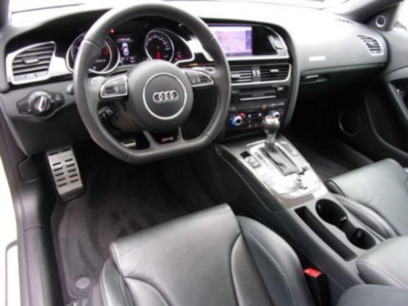 Audi RS5 4.2 FSI Blanc occasion à Beaupuy - photo n°4