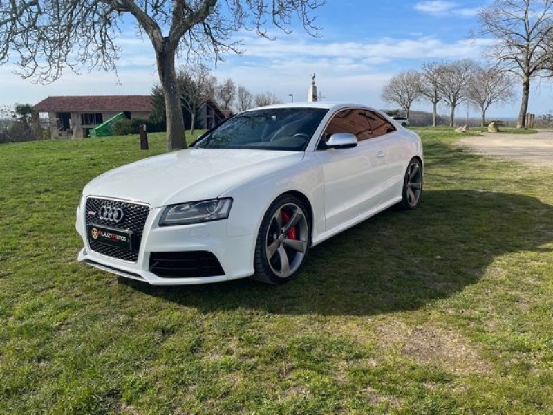 Audi RS5 4.2 V8 FSI 450CH QUATTRO S TRONIC 7 Blanc occasion à Vacquiers