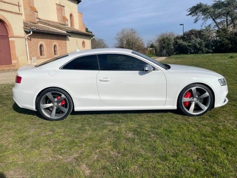 Audi RS5 4.2 V8 FSI 450CH QUATTRO S TRONIC 7 Blanc occasion à Vacquiers - photo n°4