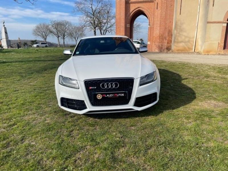 Audi RS5 4.2 V8 FSI 450CH QUATTRO S TRONIC 7 Blanc occasion à Vacquiers - photo n°2