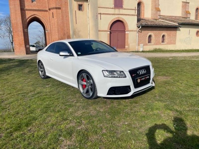 Audi RS5 4.2 V8 FSI 450CH QUATTRO S TRONIC 7 Blanc occasion à Vacquiers - photo n°3