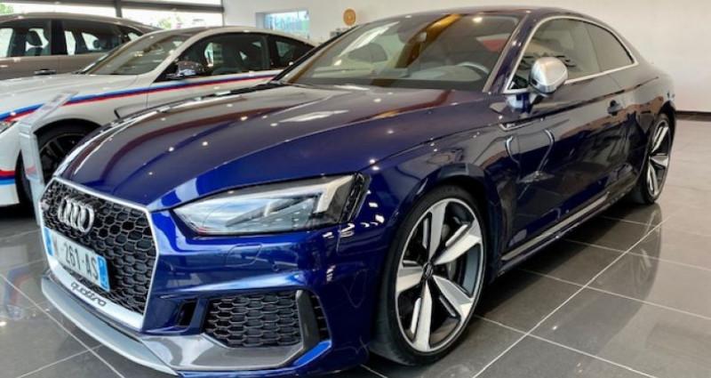 Audi RS5 Coupé II 2.9 TFSI 450 QUATTRO TIPTRONIC 8 Bleu occasion à Saint Vincent De Boisset