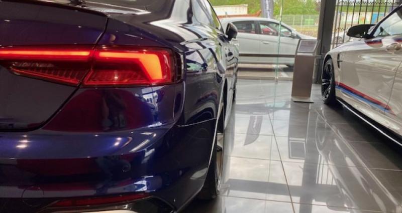 Audi RS5 Coupé II 2.9 TFSI 450 QUATTRO TIPTRONIC 8 Bleu occasion à Saint Vincent De Boisset - photo n°7